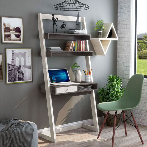 Leaning Writing Desk