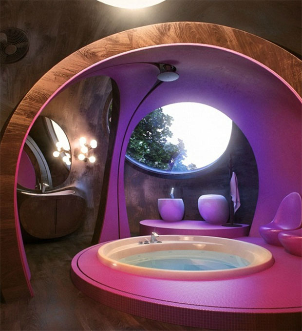 Dome Bathroom