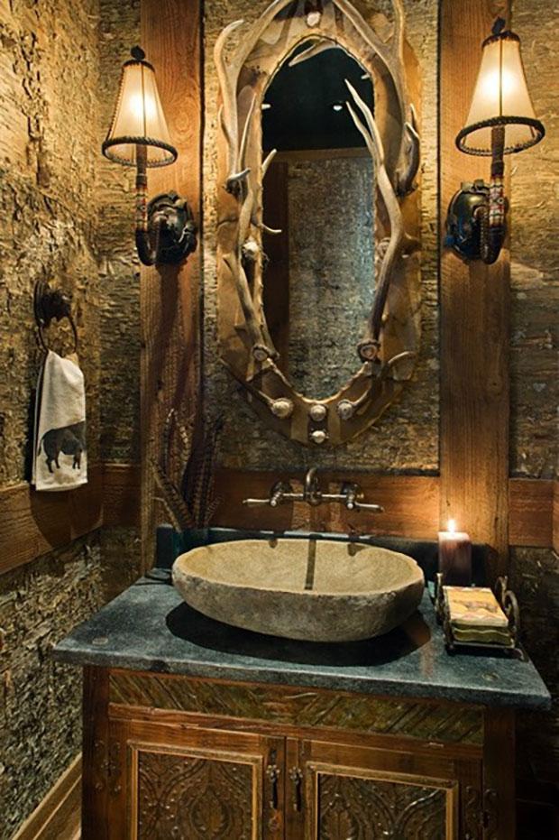 Horned-Mirror Bath