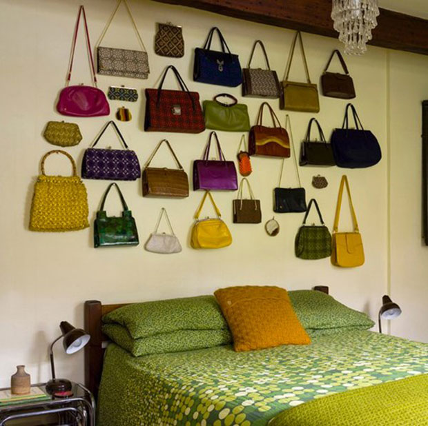 Bag Wall Bedroom