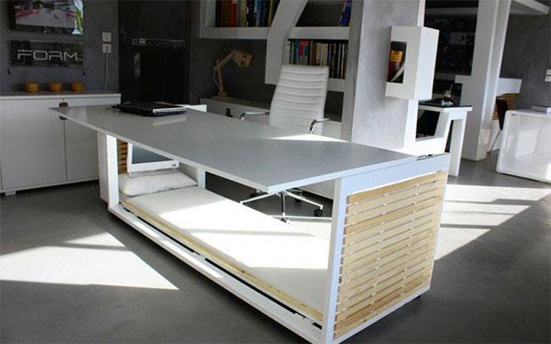 Work Desk Bed