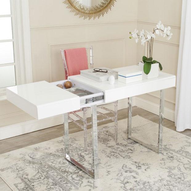 Chromium Desk Desk