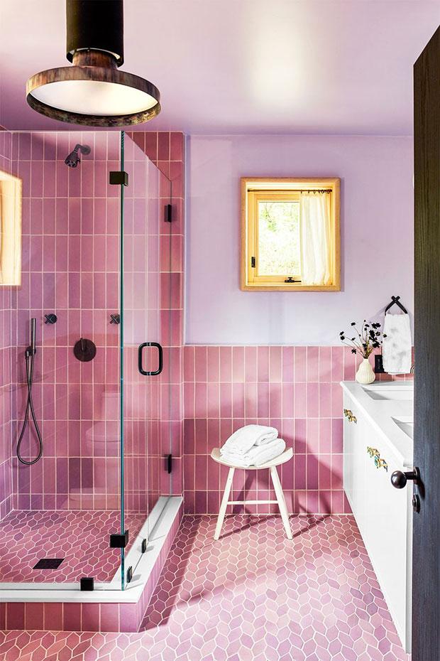 Bubblegum Pink Tiles
