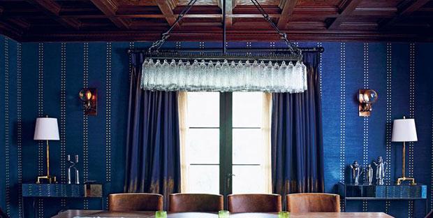 Deep Blue Curtain