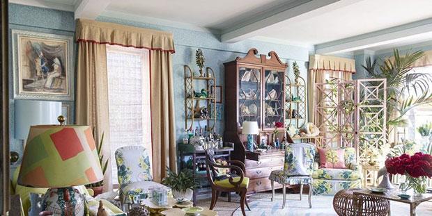 Neutral Living Room Curtain Ideas