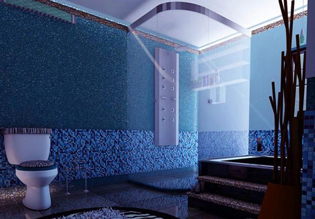Modern Elegant Bathroom Tile Ideas