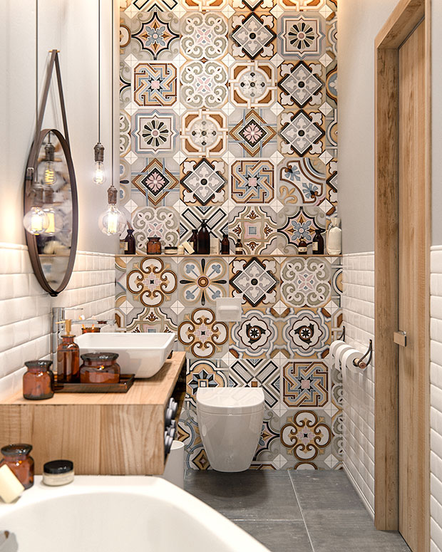 Patterned Wall