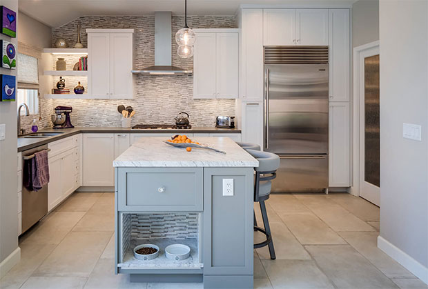 Pet-Friendly Kitchen Island