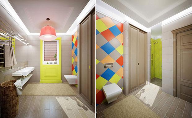 Modern Home Bathroom