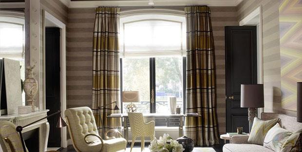 Plaid Curtain
