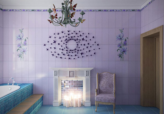 Fairytale Bathroom Tile Ideas
