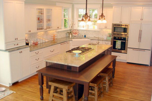 2-Layered Kitchen Island