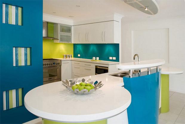 Contemporary Colorful Kitchen Designs