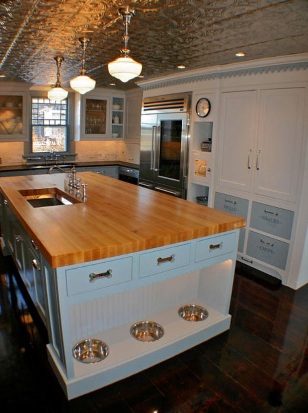 Pet-Lover Kitchen Island Ideas