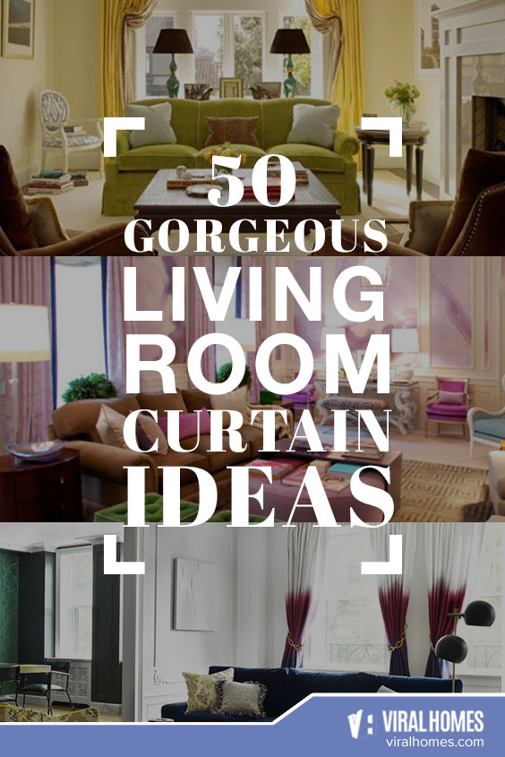 Gorgeous Living Room Curtain Ideas to Freshen Up Your Home