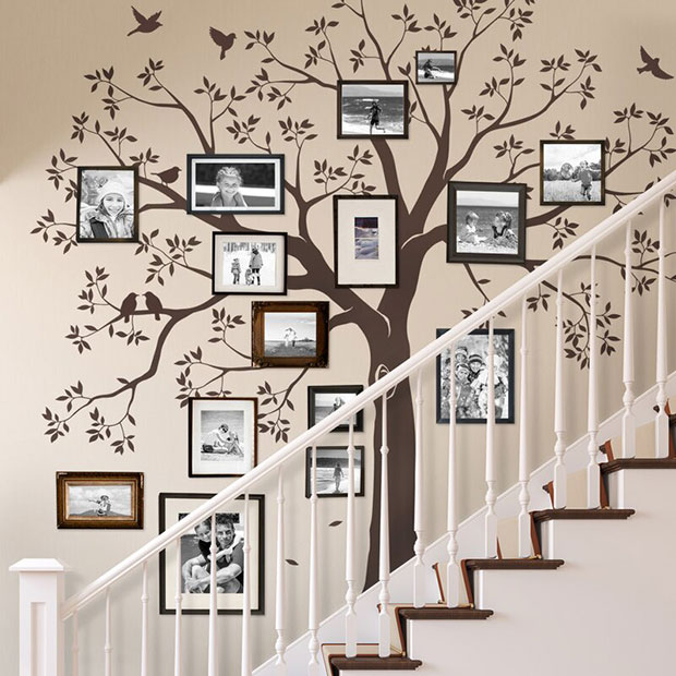 Staircase Tree Wall