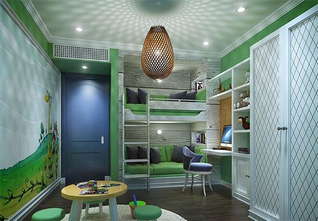 Whimsical Kids room