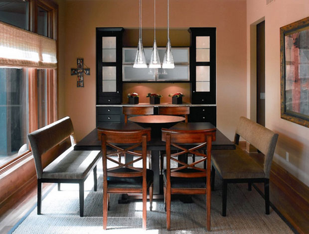 North Oaks Contemporary Wooden Dining Tables