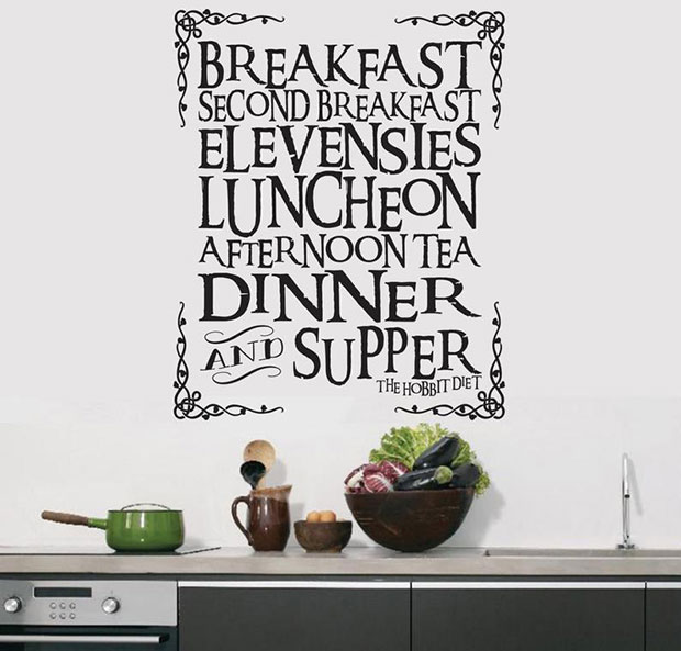 Meal Wall Decal