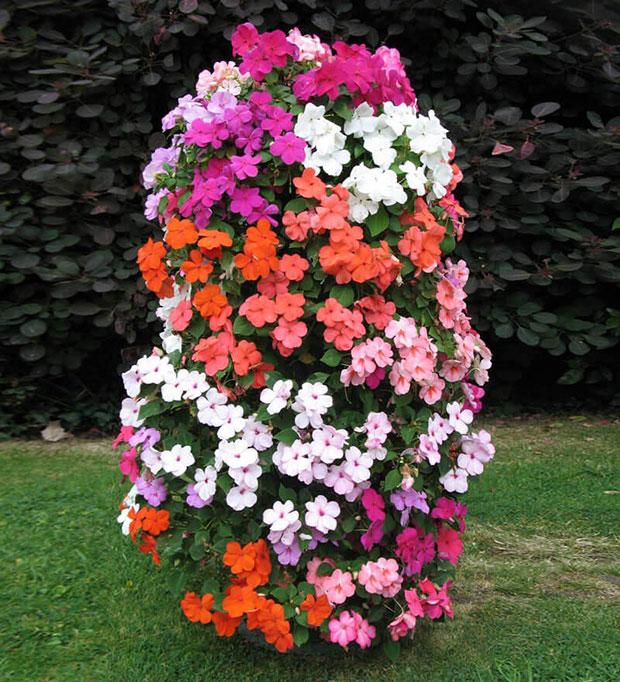 Vertical Flower Tower
