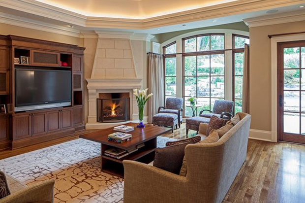 House 16 Living Room Ideas With Fireplace