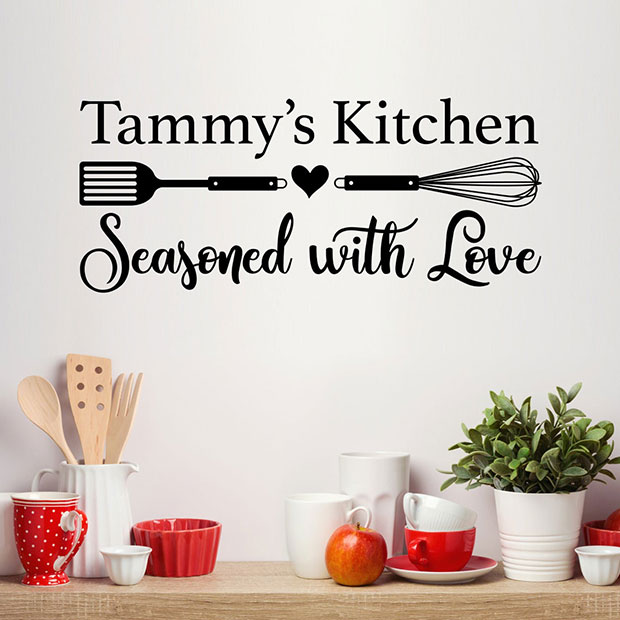 Personalize Name Kitchen