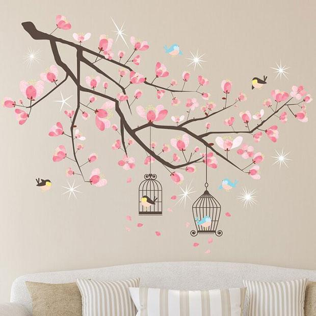 Crystal Cherry Blossom