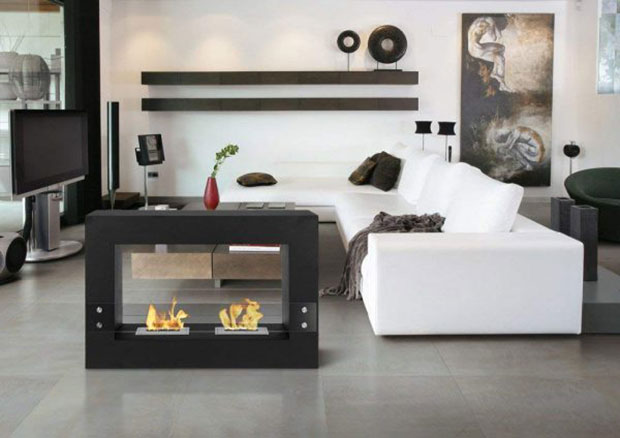Dual Flame Fireplace
