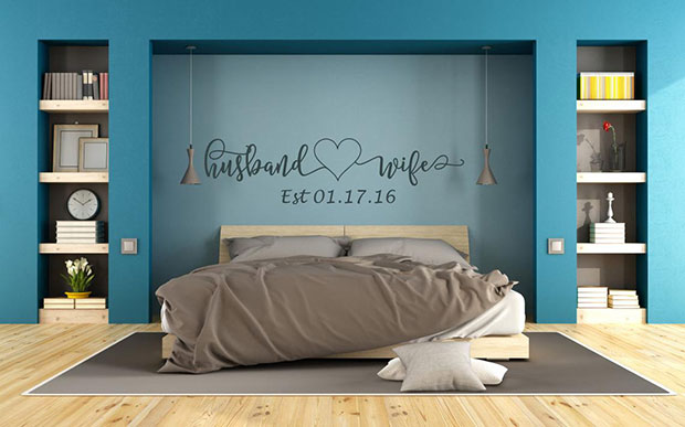 Couple Wall Decal