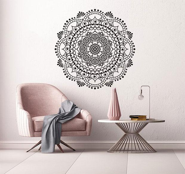 Mandala Wall Decals Design