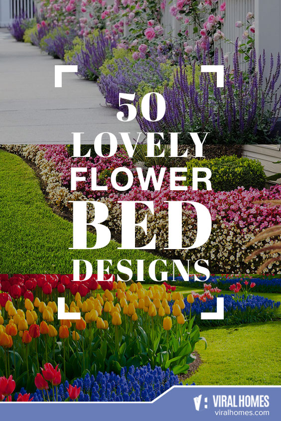 50 Beautiful Flower Bed Designs for the Green Thumb