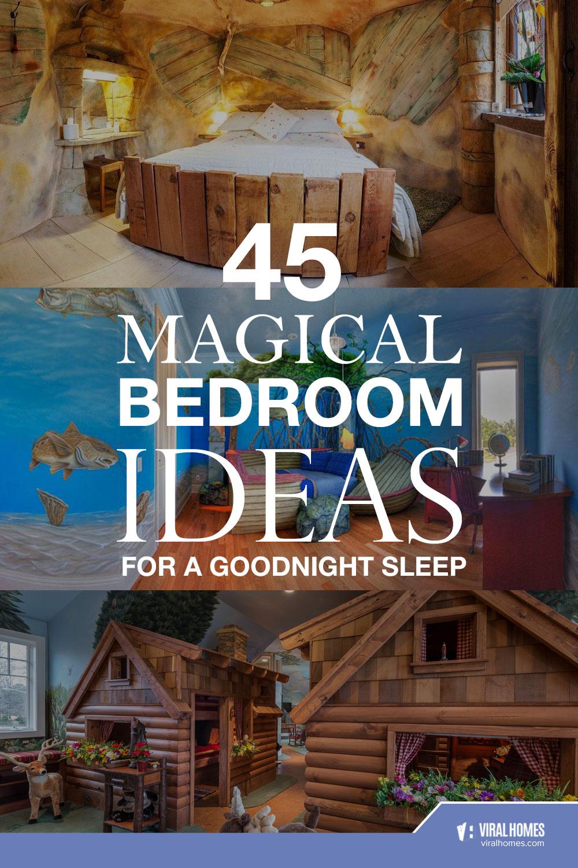 45 Magical Bedroom Design Ideas for a Goodnight Sleep