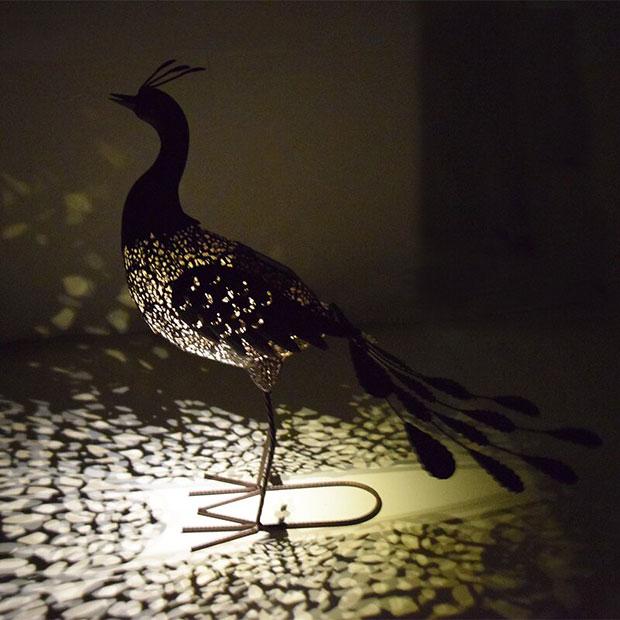 Animal Peacock Eclectic Garden Sculptures
