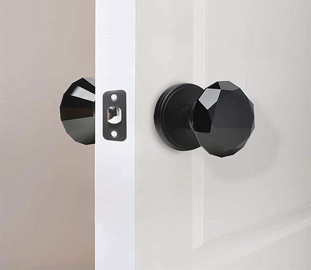 Crystal Unique Doorknobs