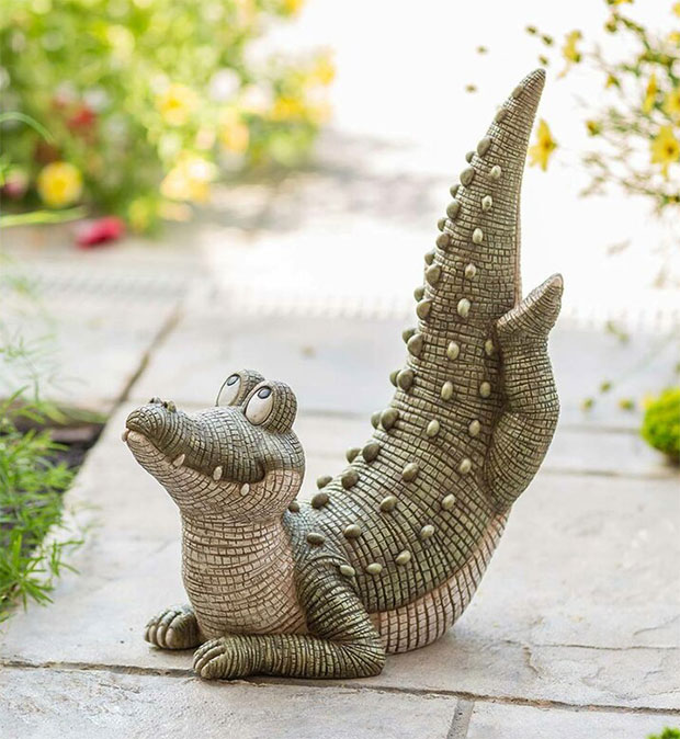 Yoga Alligator
