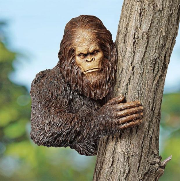 Yeti Tree Sculpture