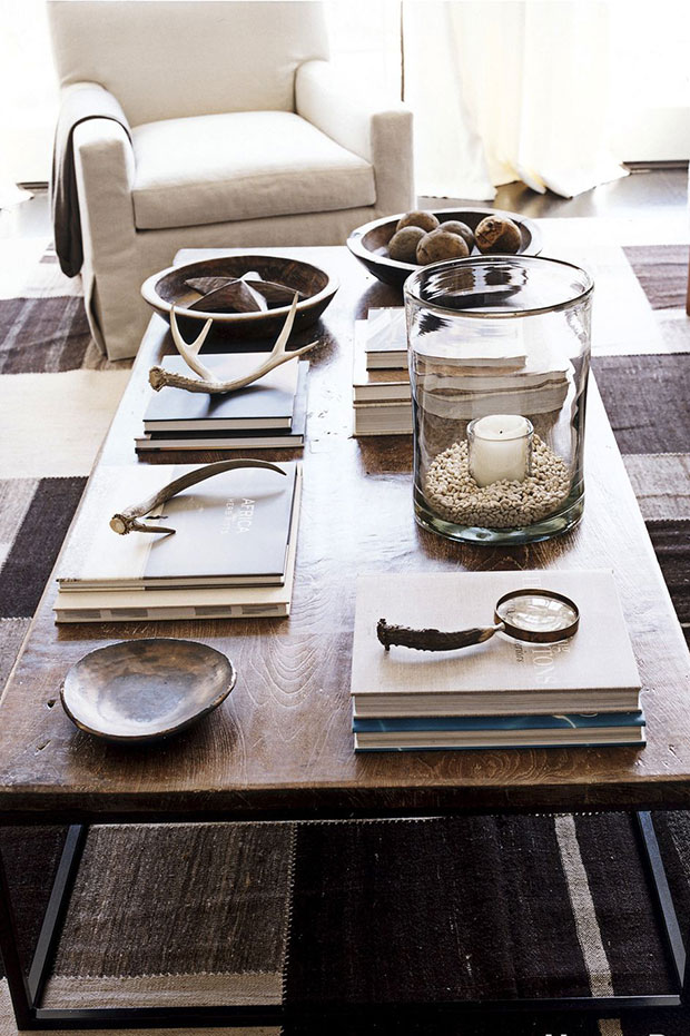 Elemental Objects for Coffee Table Decor