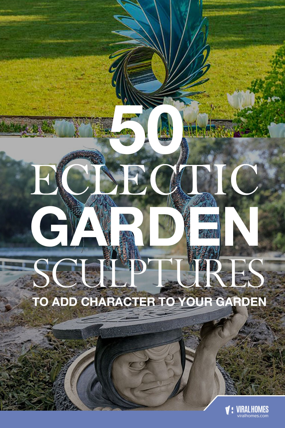 50 Fun and Eclectic Garden Sculptures To Add Character To Your Garden
