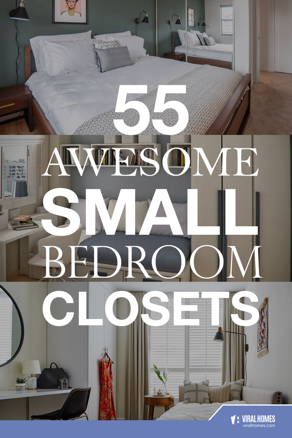 Multifunctional Small Bedroom Closet Ideas To Maximize Space