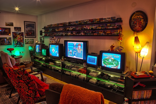 Retro Vibe Game Room Ideas