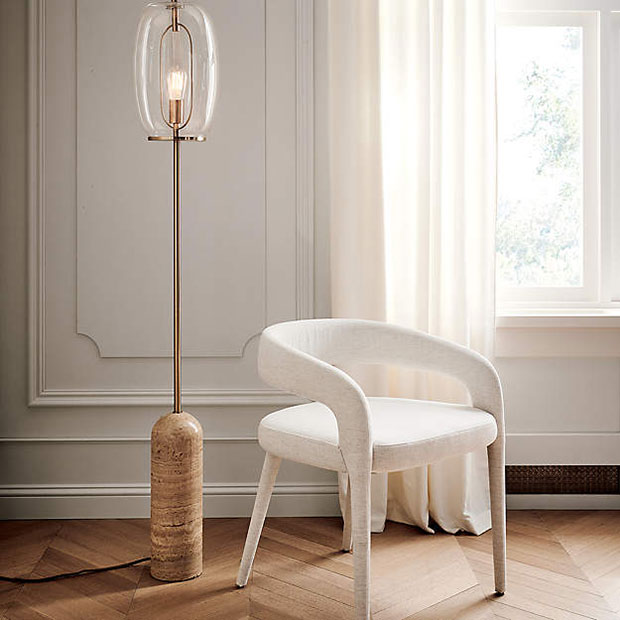 Capullo Glass Floor Lamp