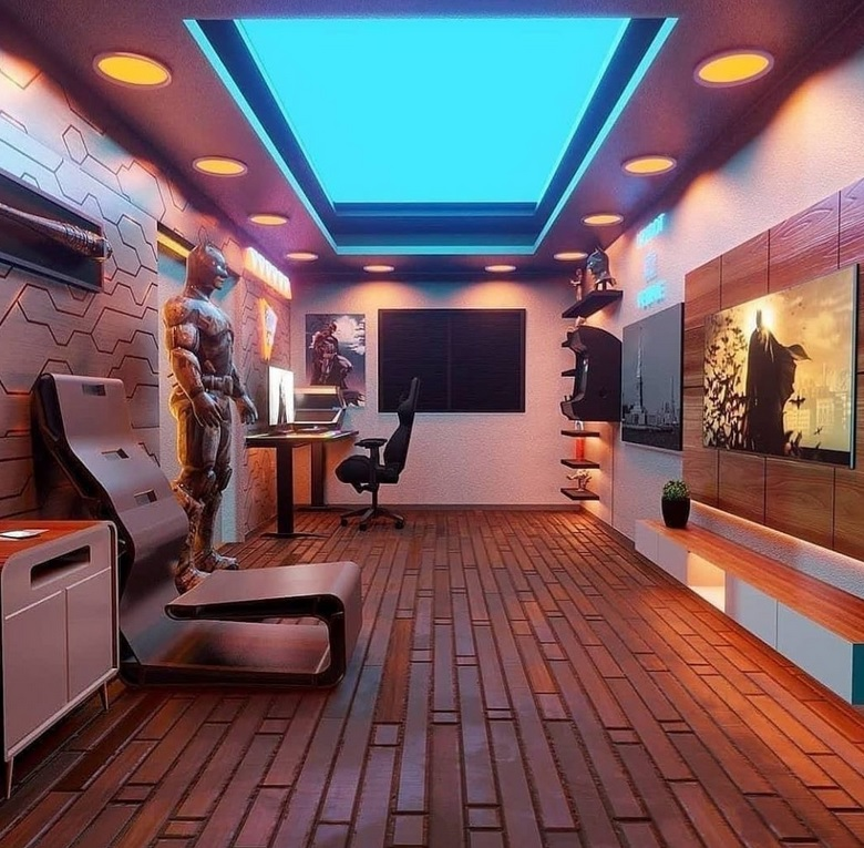 Futuristic Gaming Room Ideas