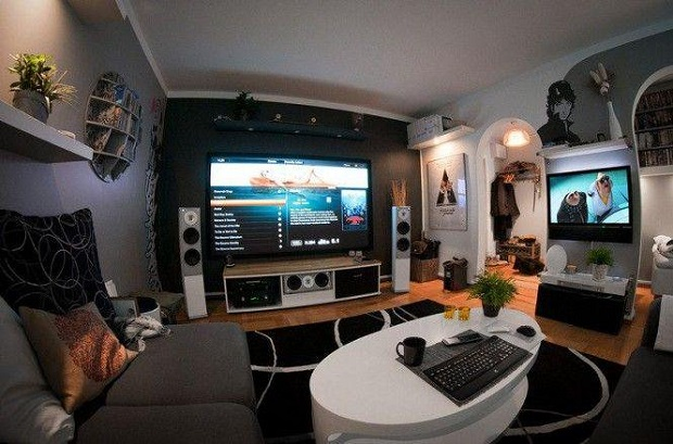 Loft Game Room Ideas