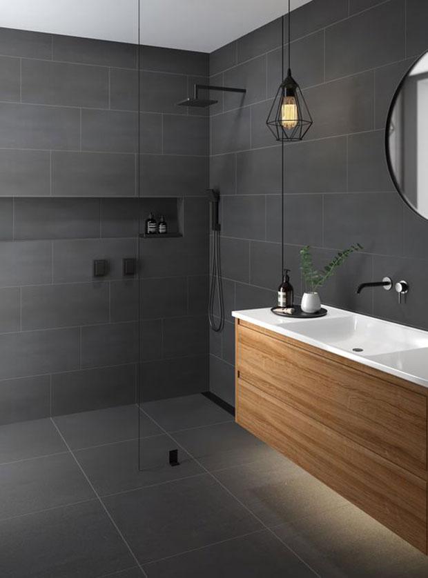 Gray Walls and Floor