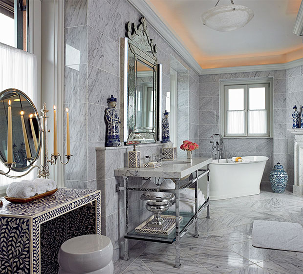 Gray Marble Room