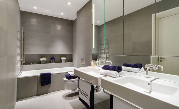 Shades of Gray Bathroom Ideas