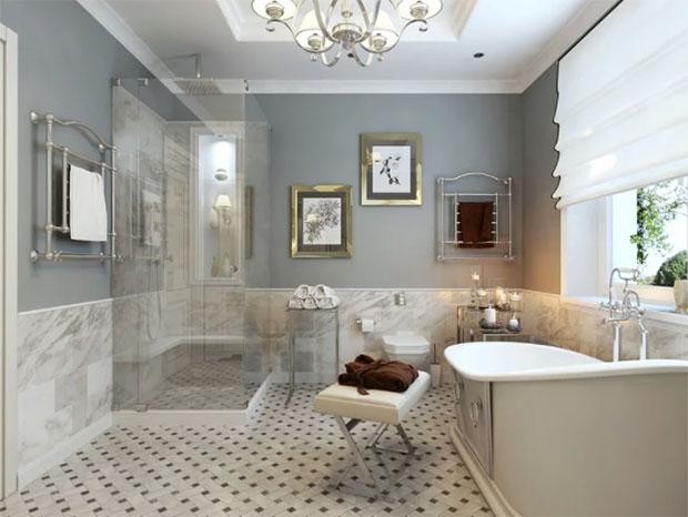 Gray Paint for Gray Bathroom Ideas