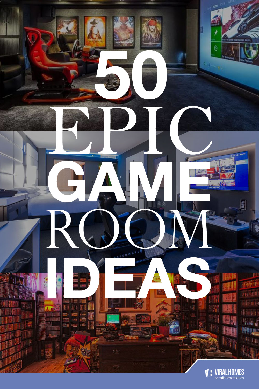 Fun and Extraordinary Game Room Ideas for Gamers