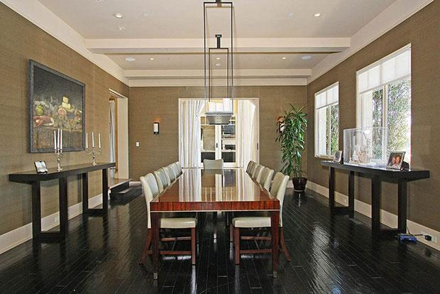 Modern Touch Mediterranean Dining Room Designs