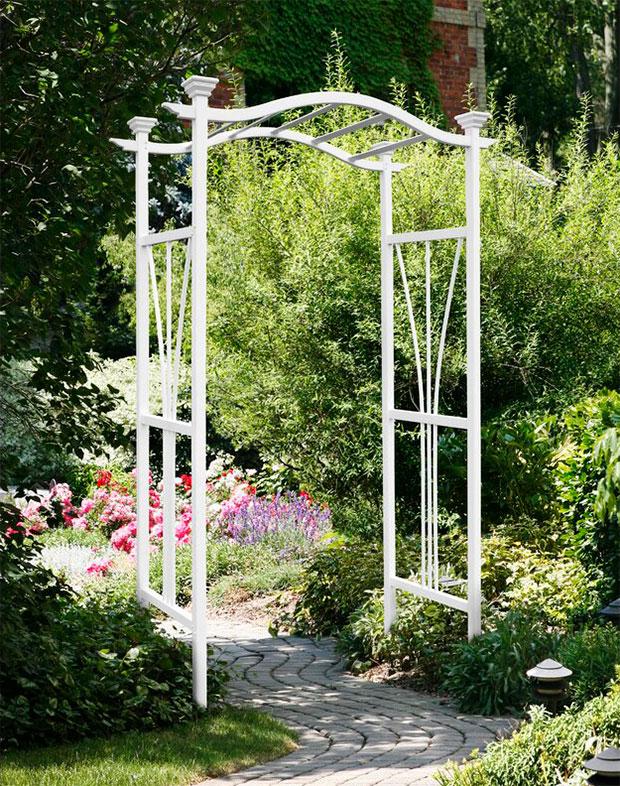 Peaslee Arbour Garden Arch Designs
